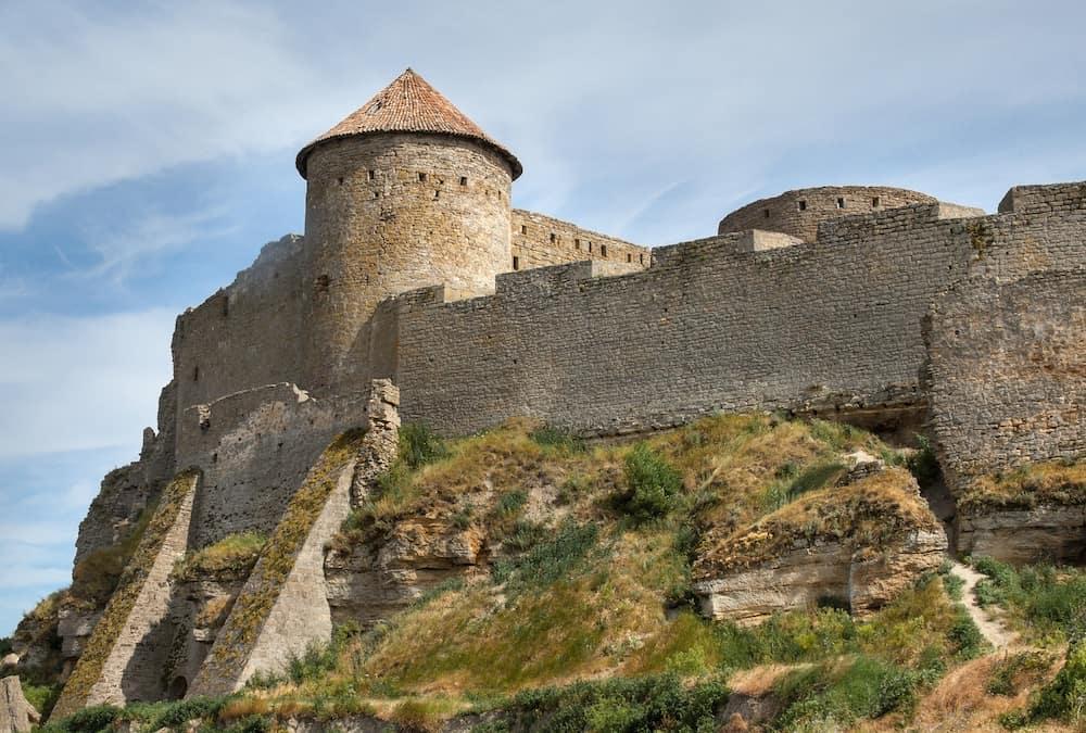 Akkerman (Bilhorod-Dnistrovskyi) fortress in Ukraine. Medieval castle.