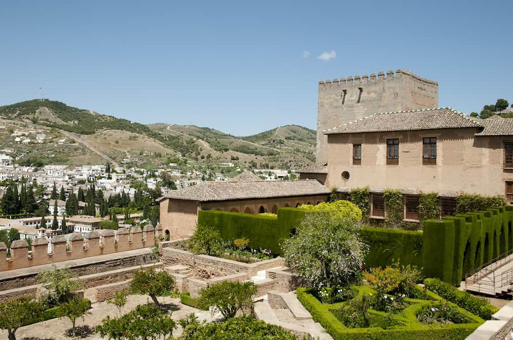 Generalife Garden - Granada City - Spain