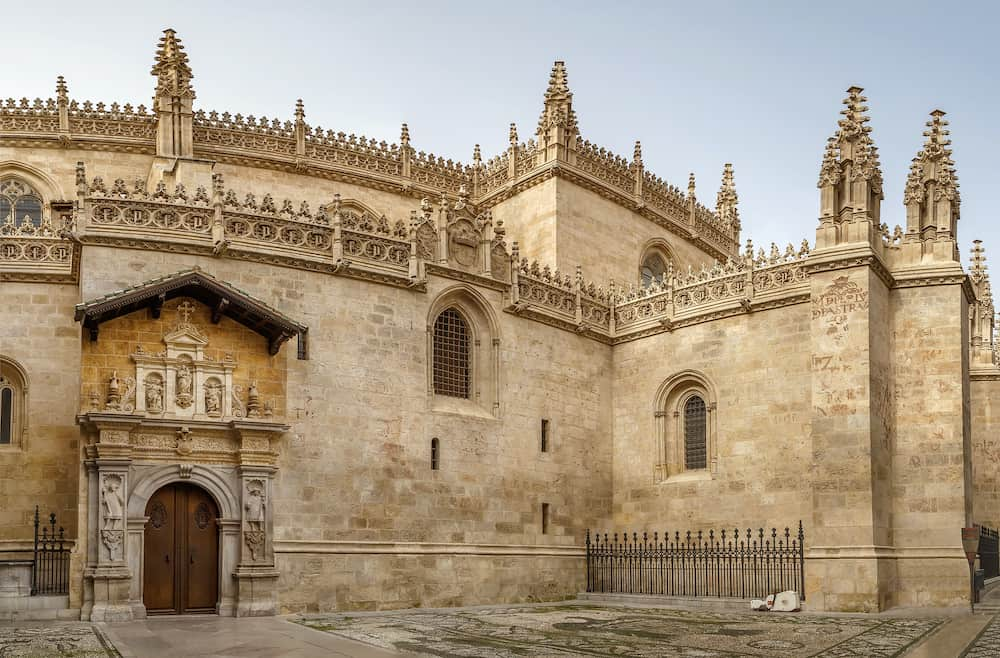 Royal Chapel of Granada (Spanish: Capilla Real de Granada) is a Isabelline style building located in the heart of Granada Spain