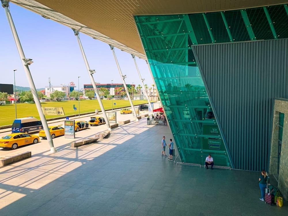 Tirana, Albania.Tirana International Airport Nene Tereza, commonly Rinas International Airport.