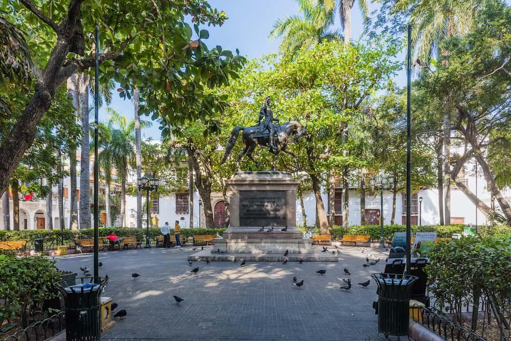 Cartagena , Colombia - Centro Historico area of Cartagena de los indias Bolivar in Colombia South America