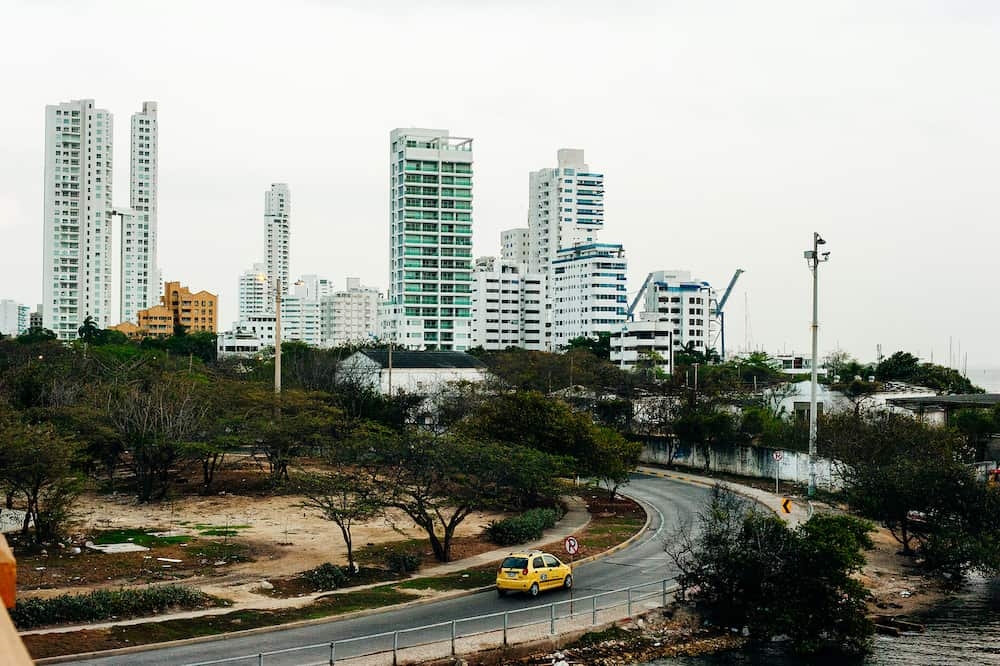 colombia, cartagena - view of the area manga