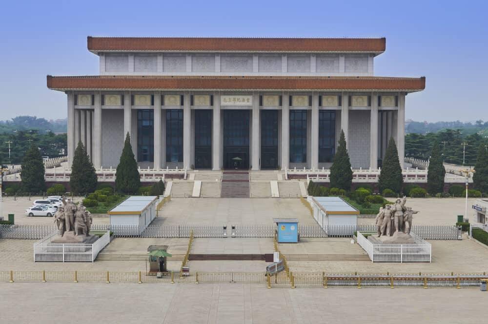 Beijing, China -Mao Zedong Memorial Hall