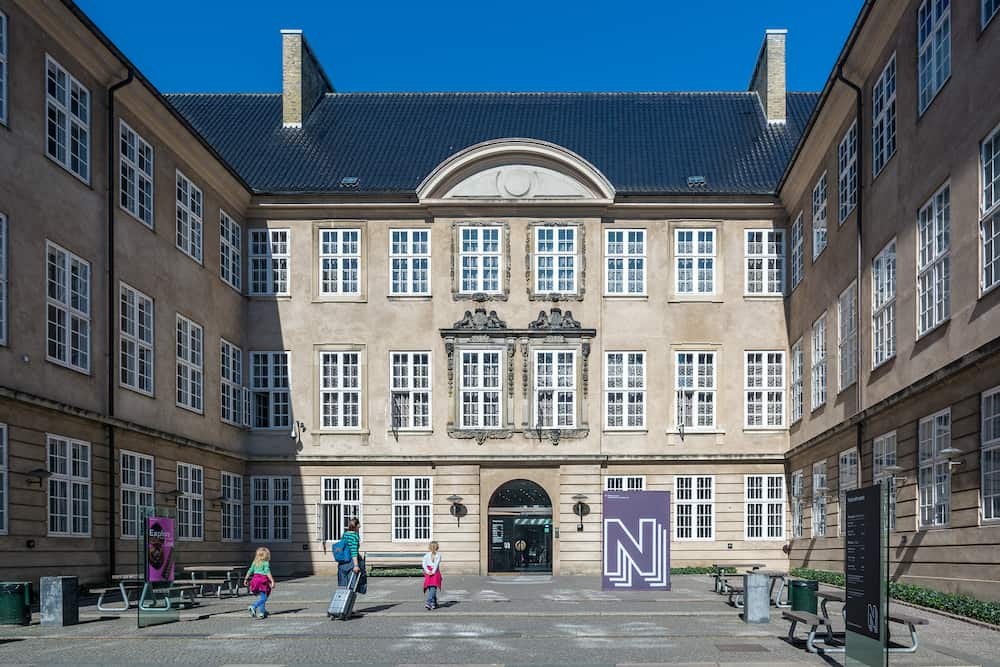 Copenhagen Denmark - The National Museum of Denmark in Copenhagen is Denmark's largest museum of cultural history. It contains exhibits from around the world from Greenland to South America.