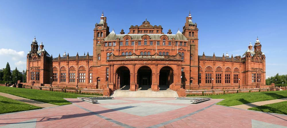 The Glasgow Art Galleries and Museum reopened July 2006 built 1901