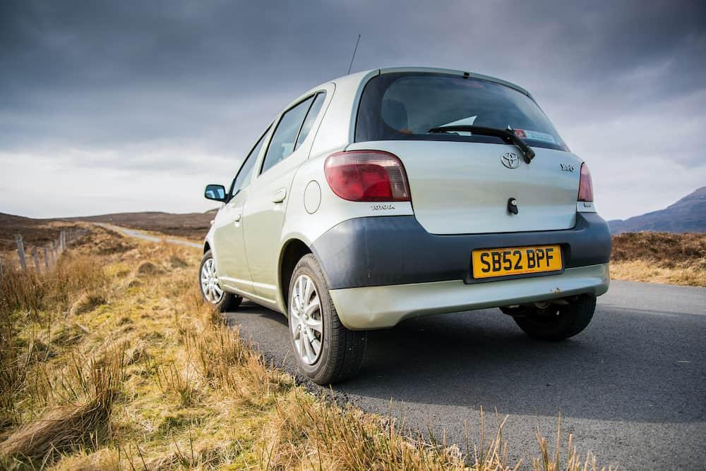 Dunvegan, Isle of Skye, Scotland - Toyota Yaris Mk1