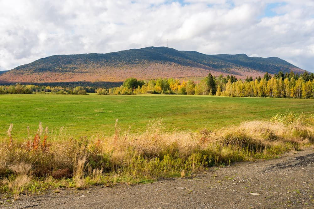 Megantic Mount in the Eastern Townships (Quebec Province, Canada)