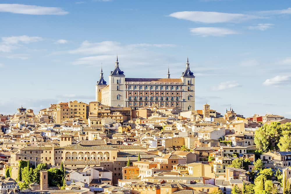 panorama Toledo.panorama Toledo. the capital of the province of Toledo. Spain